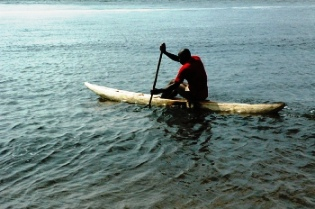 using a pirogue